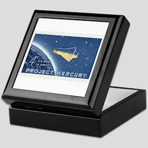 Project Mercury 4-cent Stamp Keepsake Box
