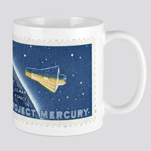 Project Mercury 4-cent Stamp Mug