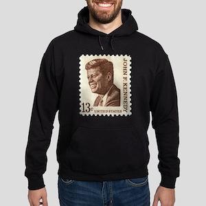 JFK 13 Cent Stamp Hoodie (dark)