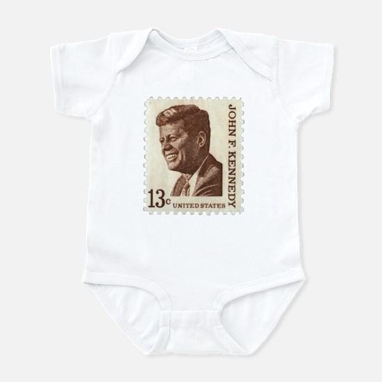 JFK 13 Cent Stamp Infant Bodysuit