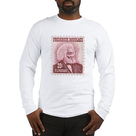 Frederick Douglass 25-cent Stamp Long Sleeve Tee