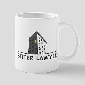 BitterLogoNO-WHITE Mugs