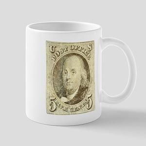 Ben Franklin 5-cent Stamp Mug