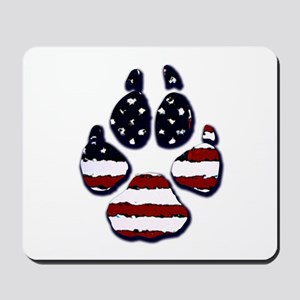American Dog Mousepad