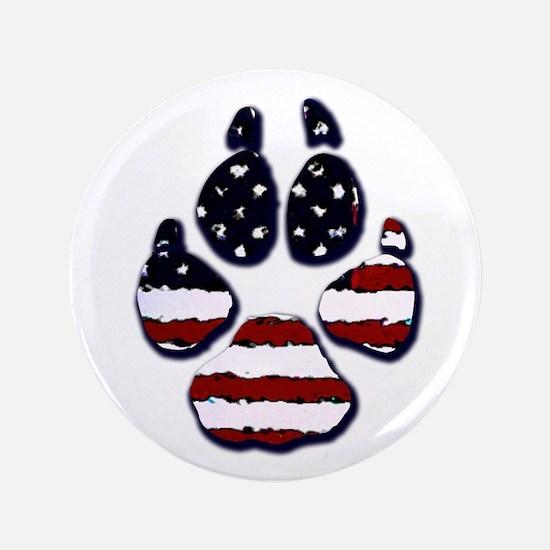 "American Dog 3.5"" Button"