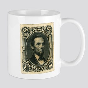 Abraham Lincoln 15-cent Stamp Mug