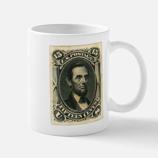 Abraham Lincoln 15-cent Stamp Mug