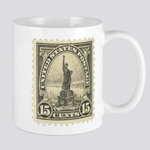Liberty 15-cent Stamp Mug