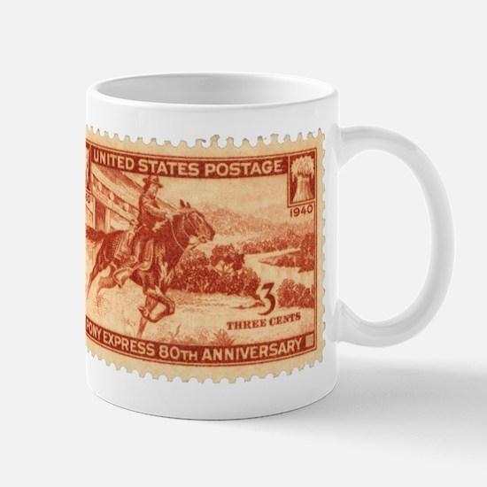 Pony Express 3-cent Stamp Mug