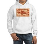 Pony Express 3-cent Stamp Hooded Sweatshirt
