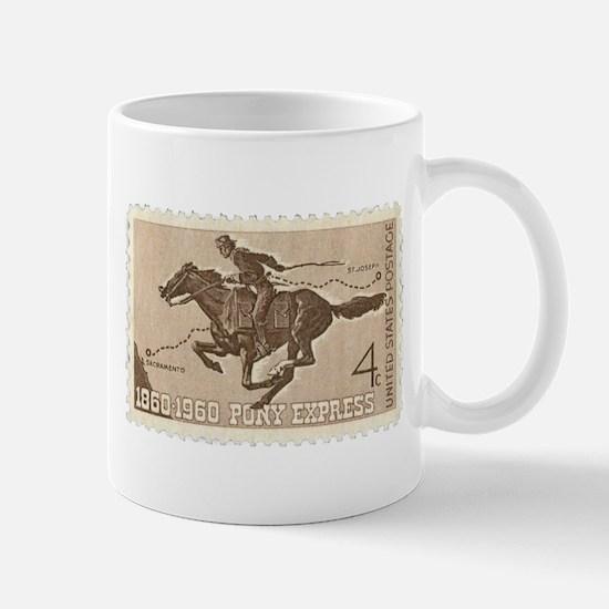 Pony Express 4-cent Stamp Mug