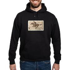 Pony Express 4-cent Stamp Hoodie (dark)