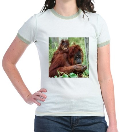 Orangutan's Jr. Ringer T-Shirt
