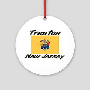 Trenton New Jersey Ornament (Round)