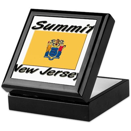 Summit New Jersey Keepsake Box