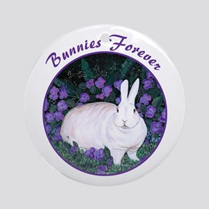 Bunnies Forever Ornament (Round)