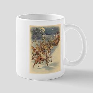 Vintage Christmas Santa Claus Mug