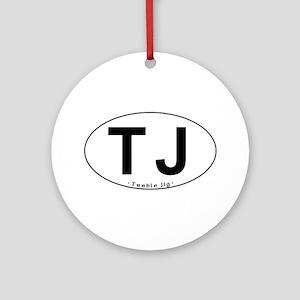 TJ Oval - Ornament (Round)