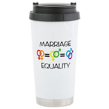 Marriage Equality Stainless Steel Travel Mug