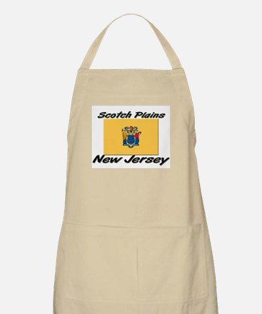 Scotch Plains New Jersey BBQ Apron
