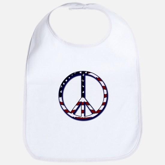 American Peace Bib