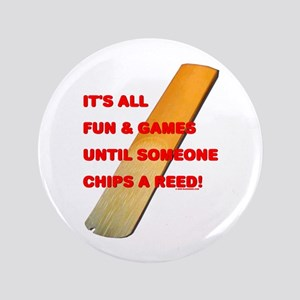 """Chip A Reed 3.5"""" Button"""
