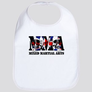 MMA UK Flag & Skulls Bib