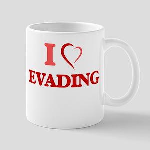 I love EVADING Mugs