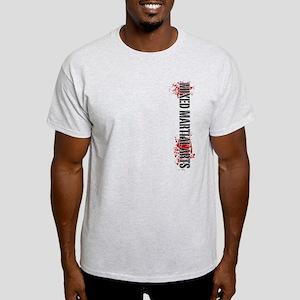 MMA Mixed Martial Arts Vertic Light T-Shirt