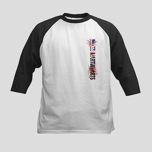 MMA Mixed Martial Arts UK Ver Kids Baseball Jersey