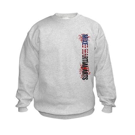 MMA Mixed Martial Arts USA Ve Kids Sweatshirt