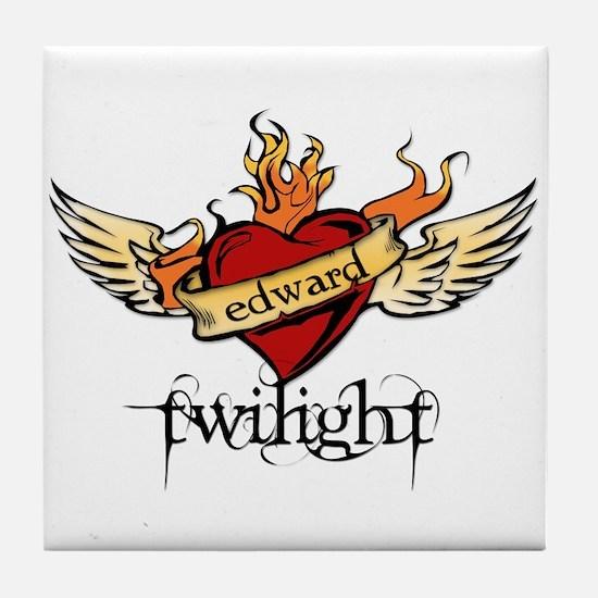 Twilight - Edward Tile Coaster