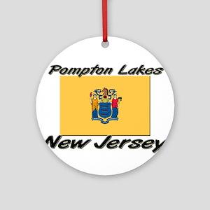 Pompton Lakes New Jersey Ornament (Round)