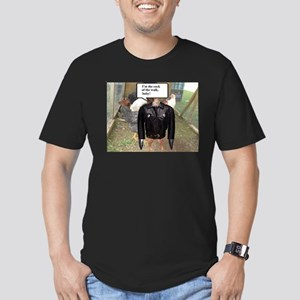 COCK OF THE WALK Men's Fitted T-Shirt (dark)