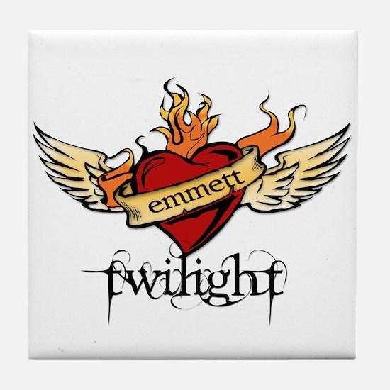 Twilight - Emmett Tile Coaster