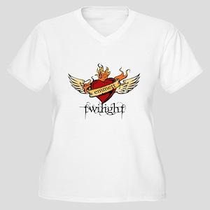Twilight - Emmett Women's Plus Size V-Neck T-Shirt