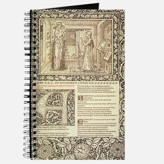 William Morris Kelmscott Chaucer Journal