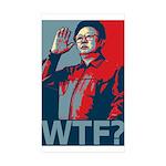 Kim Jong Il: WTF? Rectangle Sticker 50 pk)