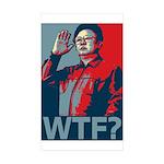 Kim Jong Il: WTF? Rectangle Sticker 10 pk)