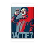 Kim Jong Il: WTF? Rectangle Sticker