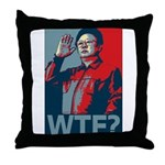 Kim Jong Il: WTF? Throw Pillow