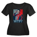 Kim Jong Il: WTF? Women's Plus Size Scoop Neck Dar