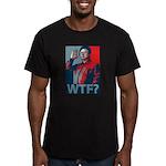 Kim Jong Il: WTF? Men's Fitted T-Shirt (dark)