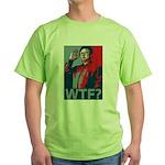 Kim Jong Il: WTF? Green T-Shirt