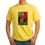 Kim Jong Il: WTF? Yellow T-Shirt