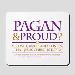 Pagan & Proud? Mousepad