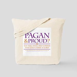 Pagan & Proud? Tote Bag