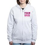 Team Bride Women's Zip Hoodie