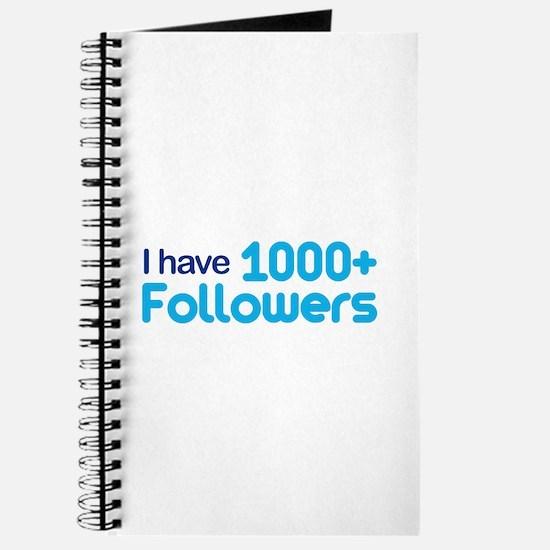 1000+ Followers Journal
