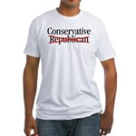 When Obama screws up healthcare... Fitted T-Shirt